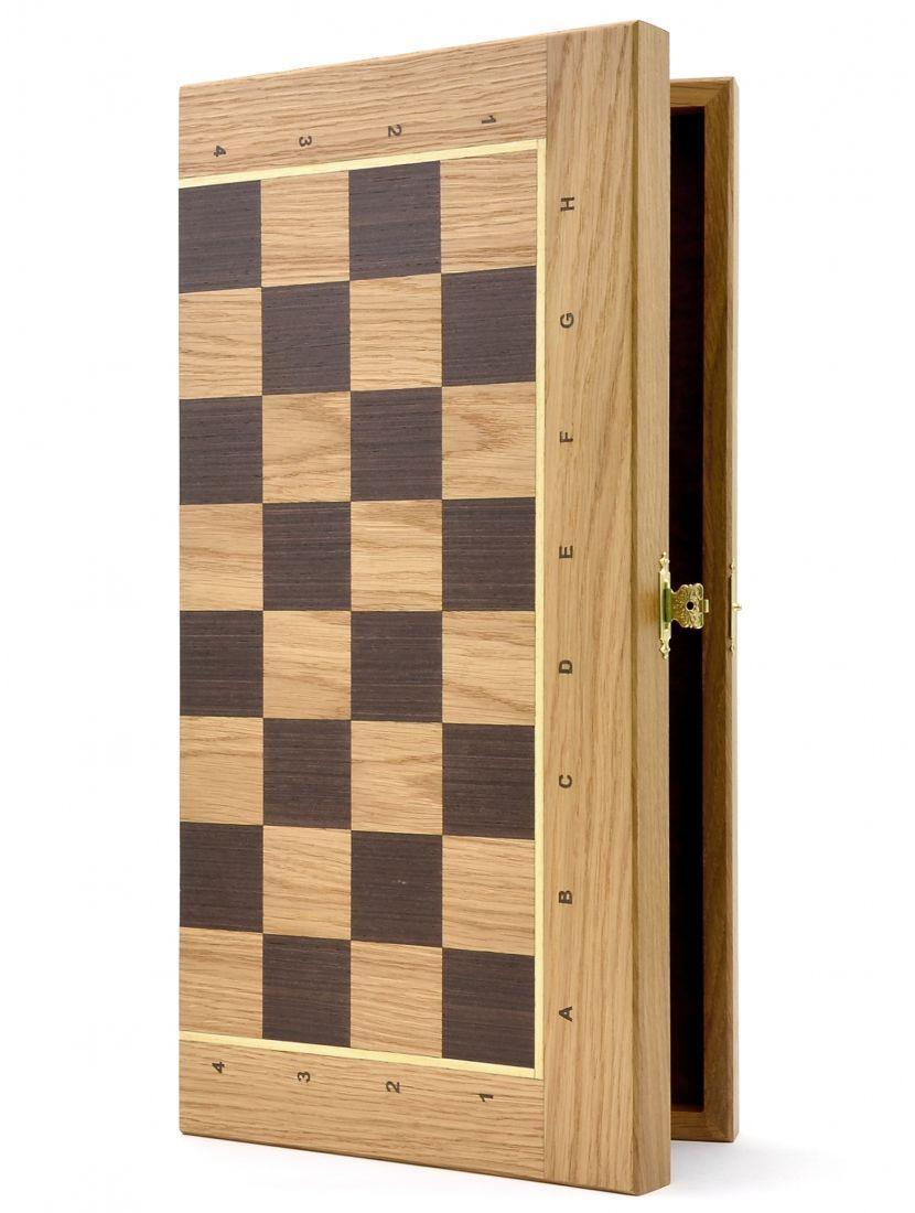 Шахматная доска «Панская» дуб 40 см