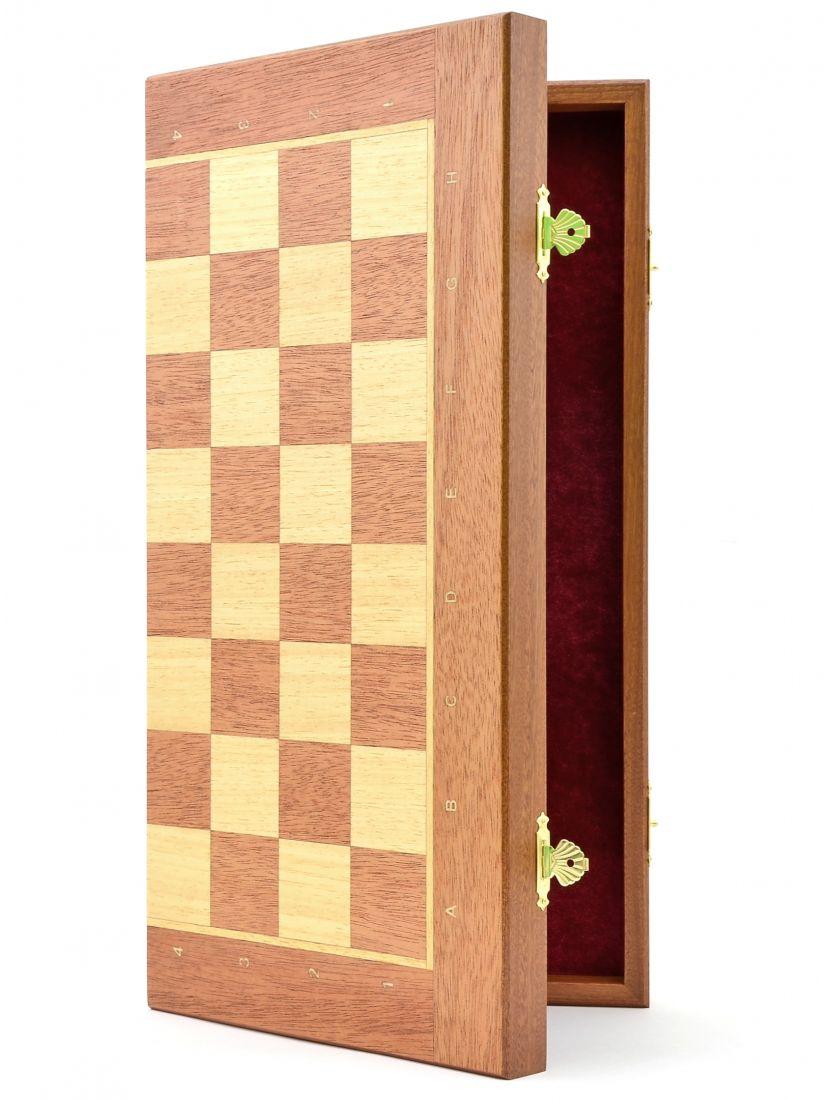 Шахматная доска «Панская» махагон 45 см