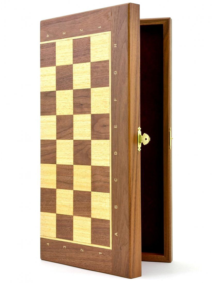 Шахматная доска «Панская» орех 40 см