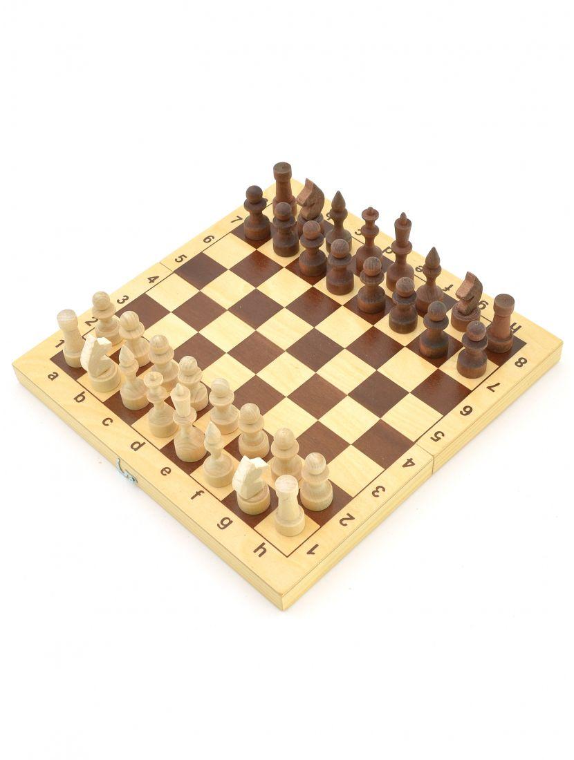 Шахматы малые «Владимирские» деревянные фигуры