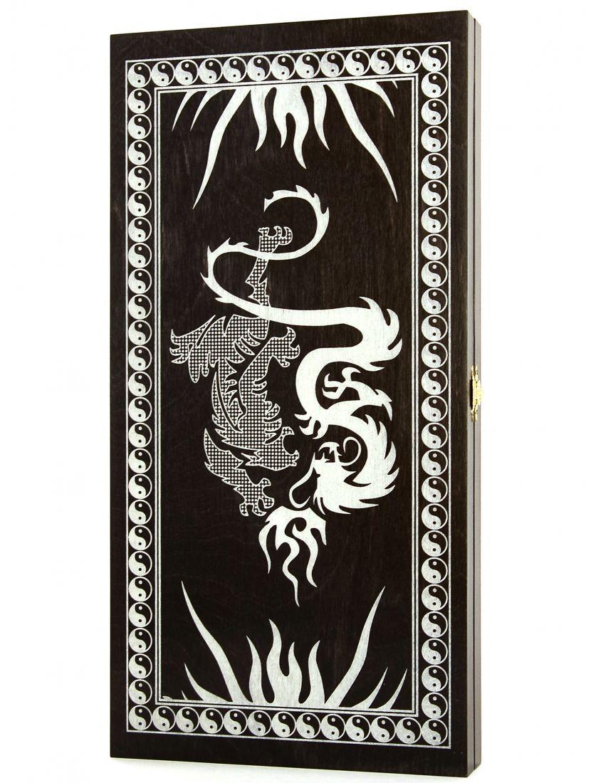 Нарды «Дракон» тонированные
