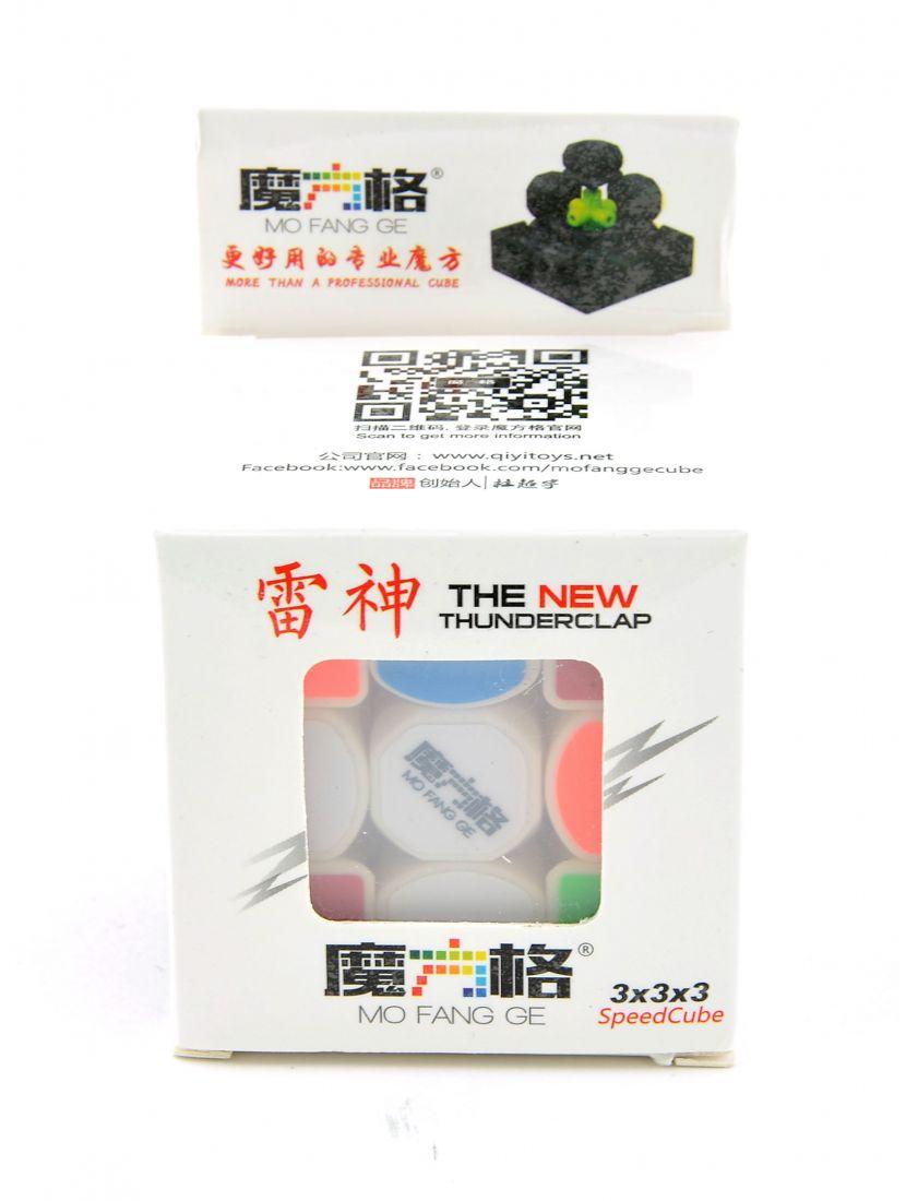 Кубик Рубика «Thunderclap New» 3x3x3 белый