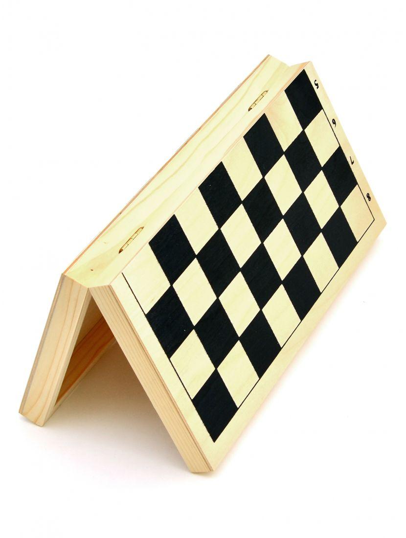 Шахматная доска малая «Ярославская» тёмная клетка