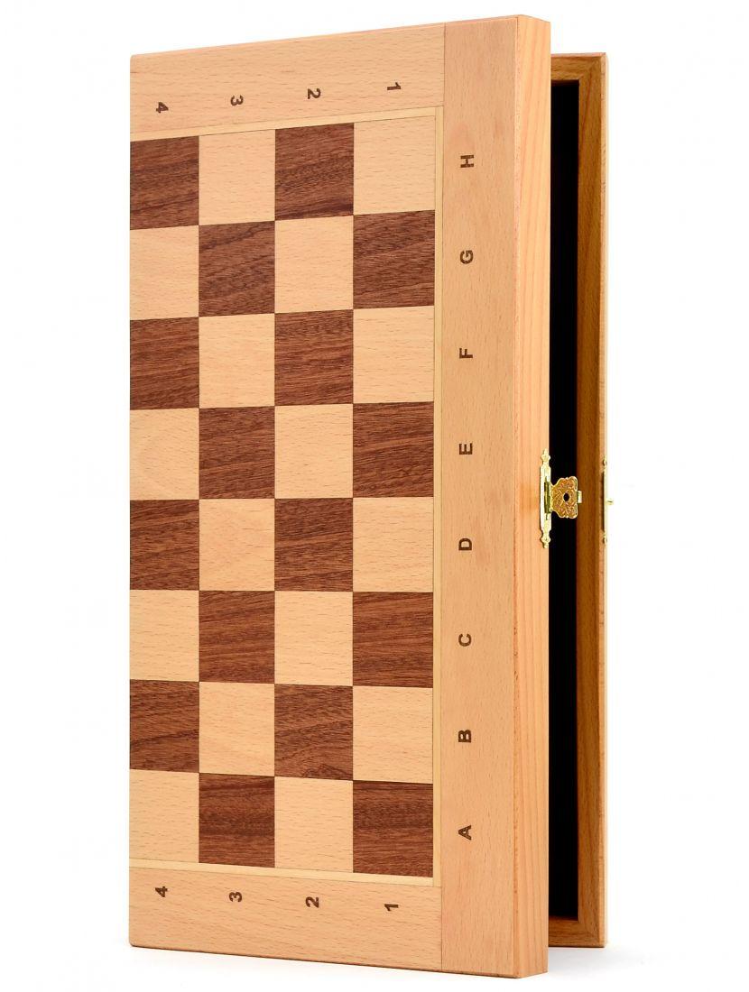Шахматная доска «Панская» бук 40 см