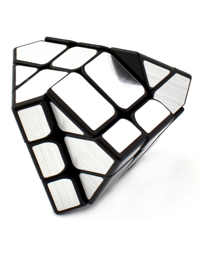 Кубик зеркальный «Ice brushed Yileng» серебристый