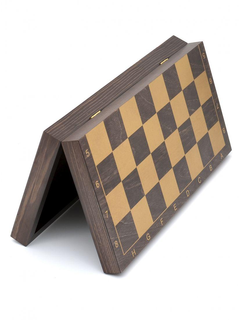 Шахматная доска «Гроссмейстерская» венге