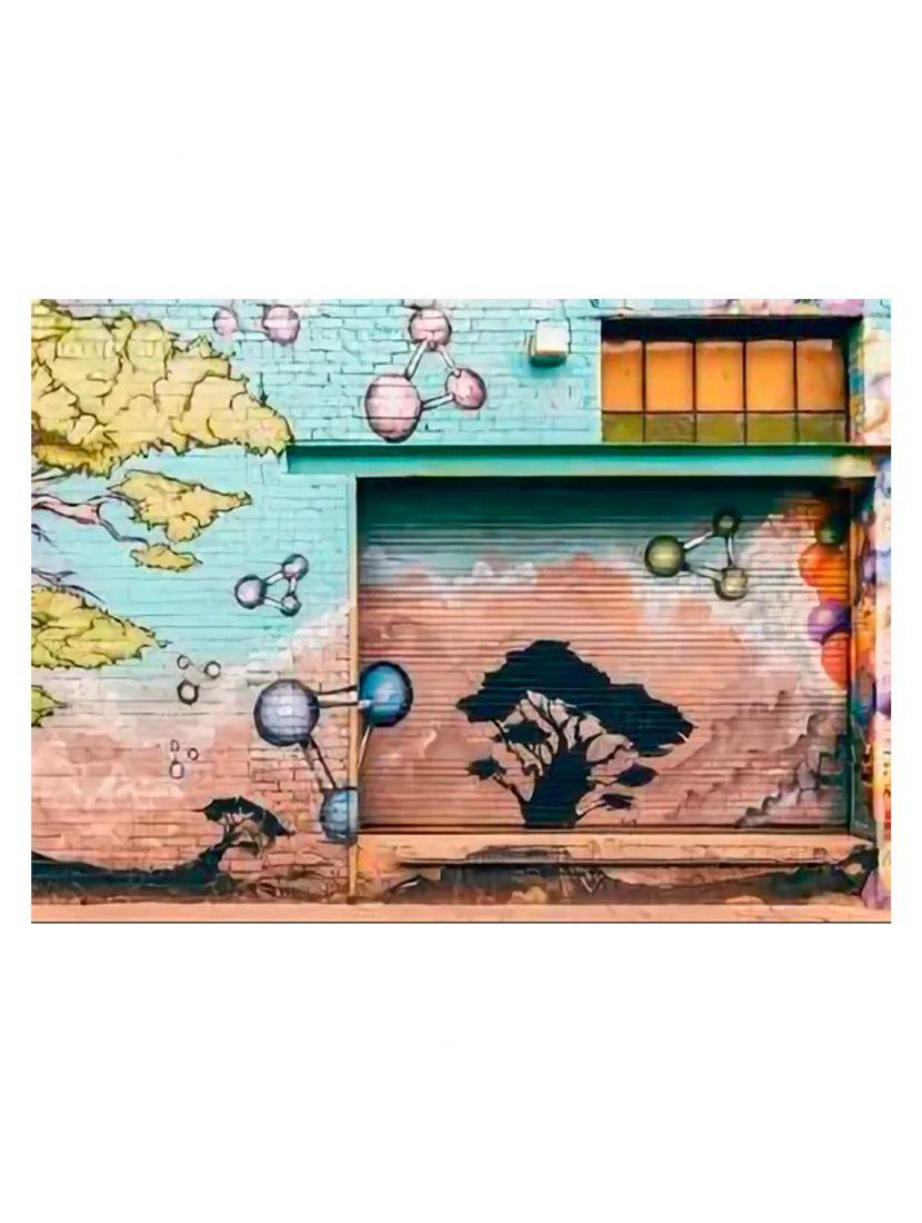 Деревянный пазл «Стрит - арт, Африка»