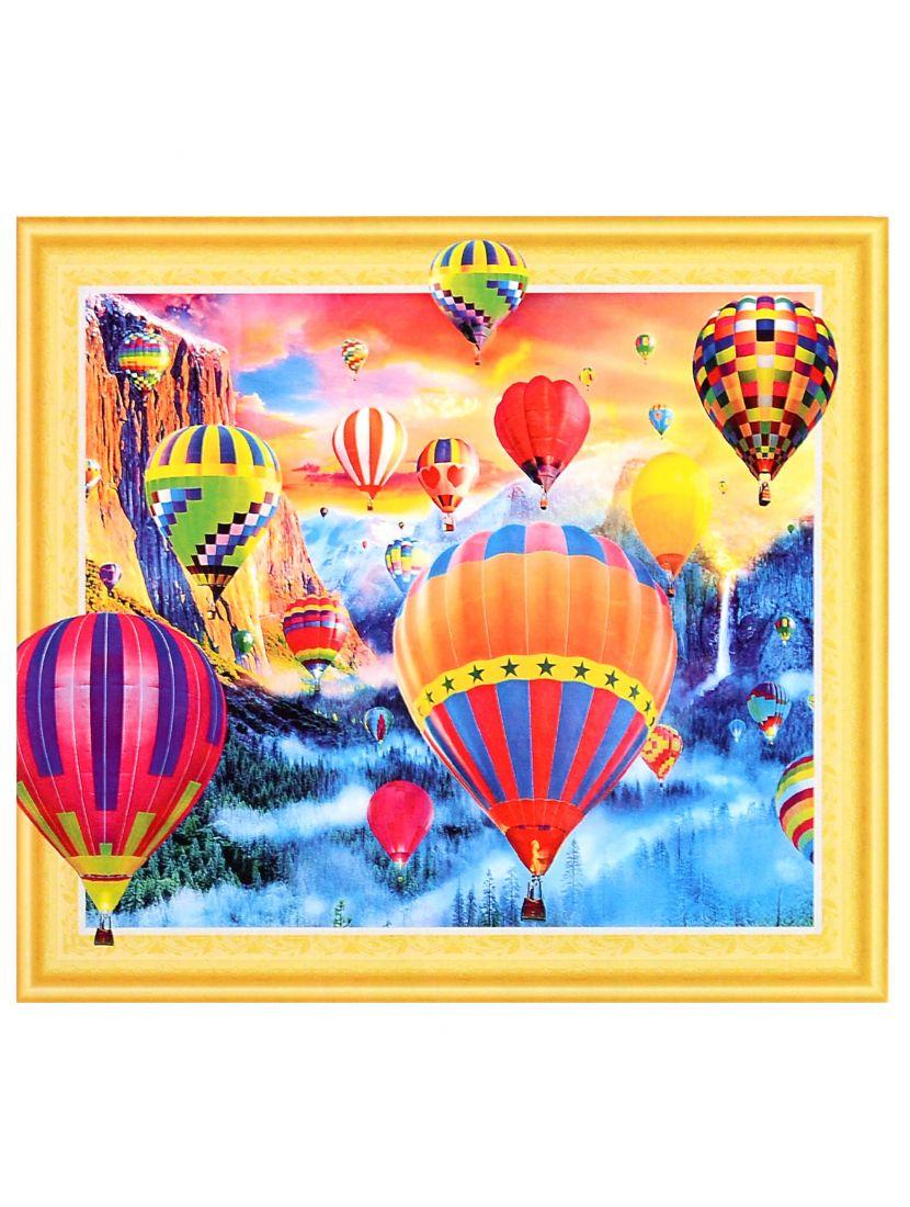 Алмазная мозаика на подрамнике «Воздушные шары»