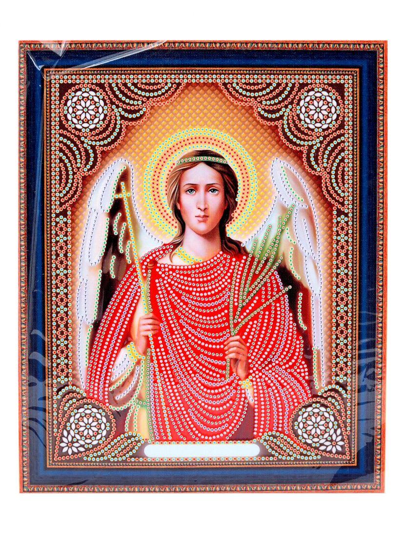 Алмазная мозаика на подрамнике «Архангел Гавриил» икона
