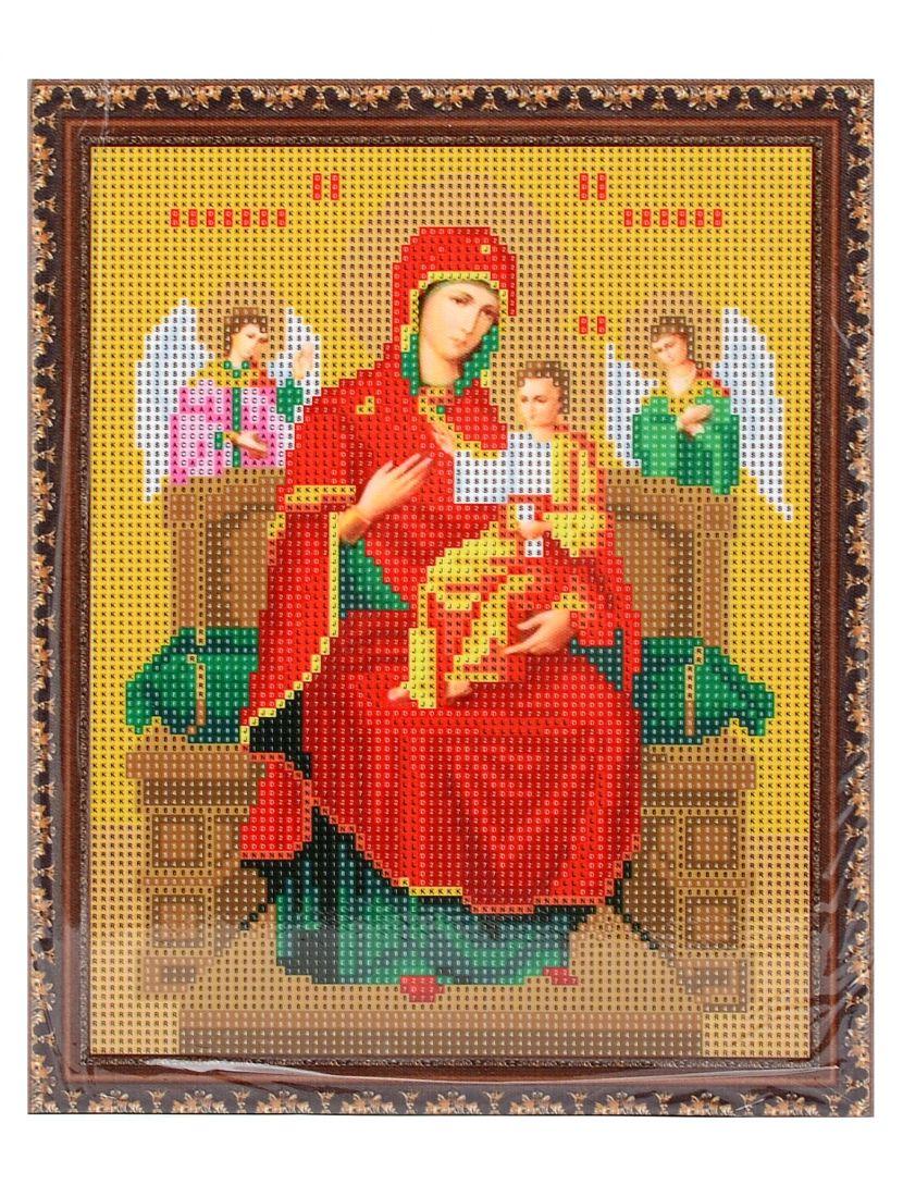 Алмазная мозаика на подрамнике «Божией Матери Всецарица» икона