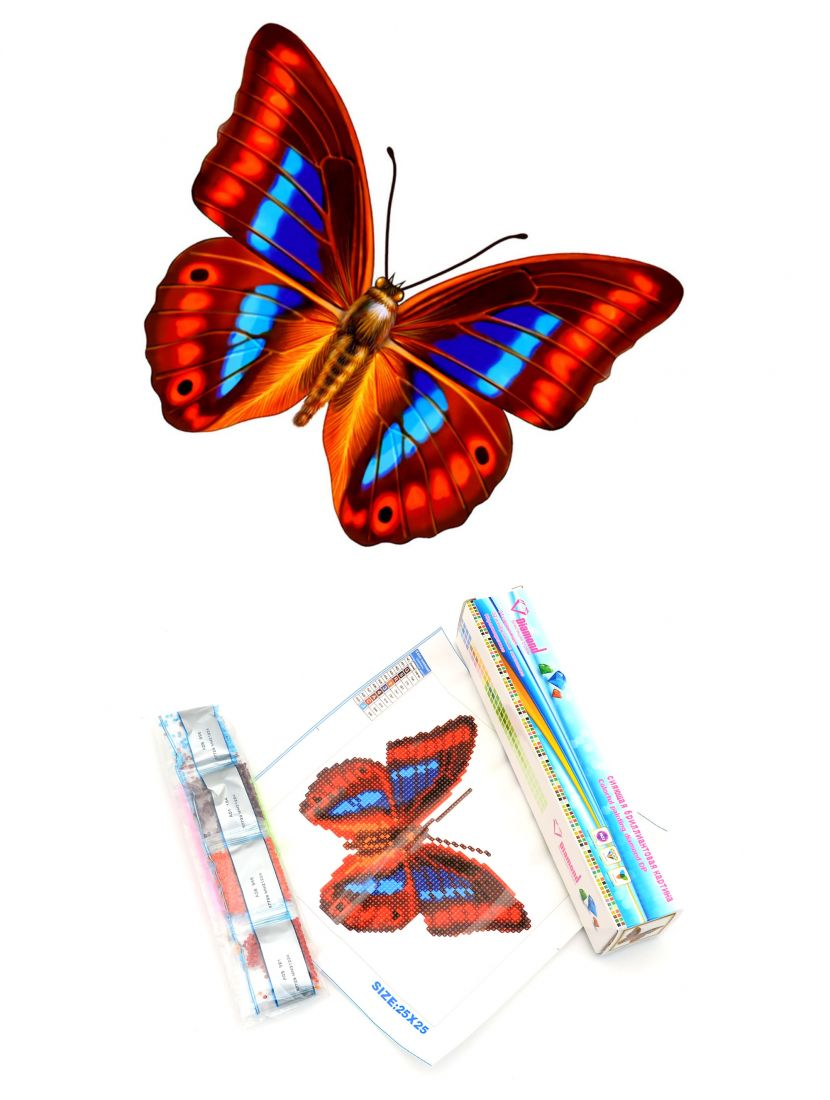 Алмазная мозаика «Бабочка»