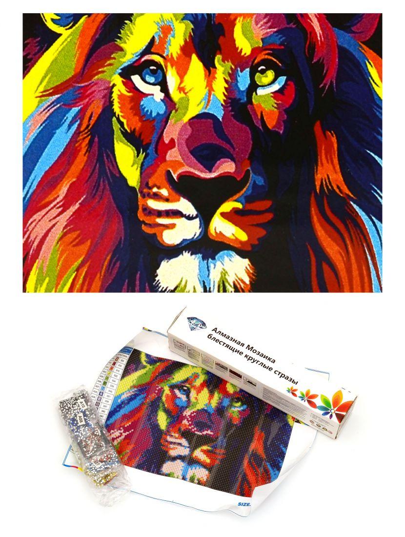 Алмазная мозаика «Холи лев»