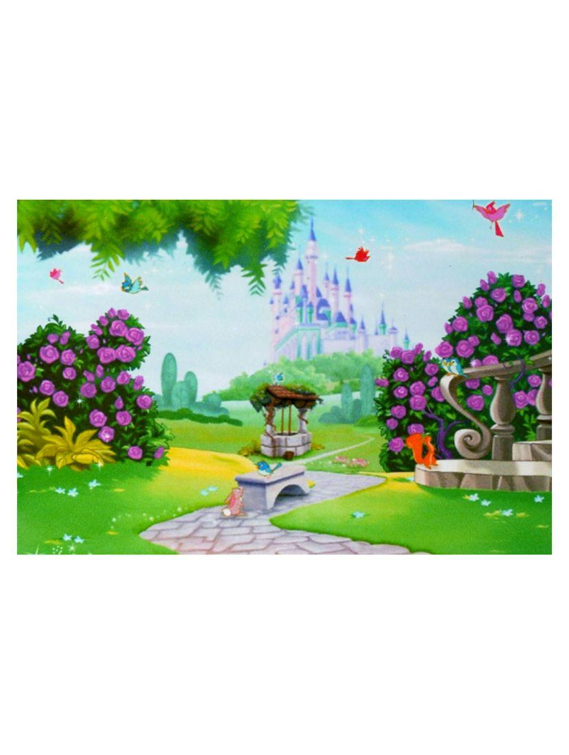 Картина по номерам  на подрамнике «Сказочный замок»
