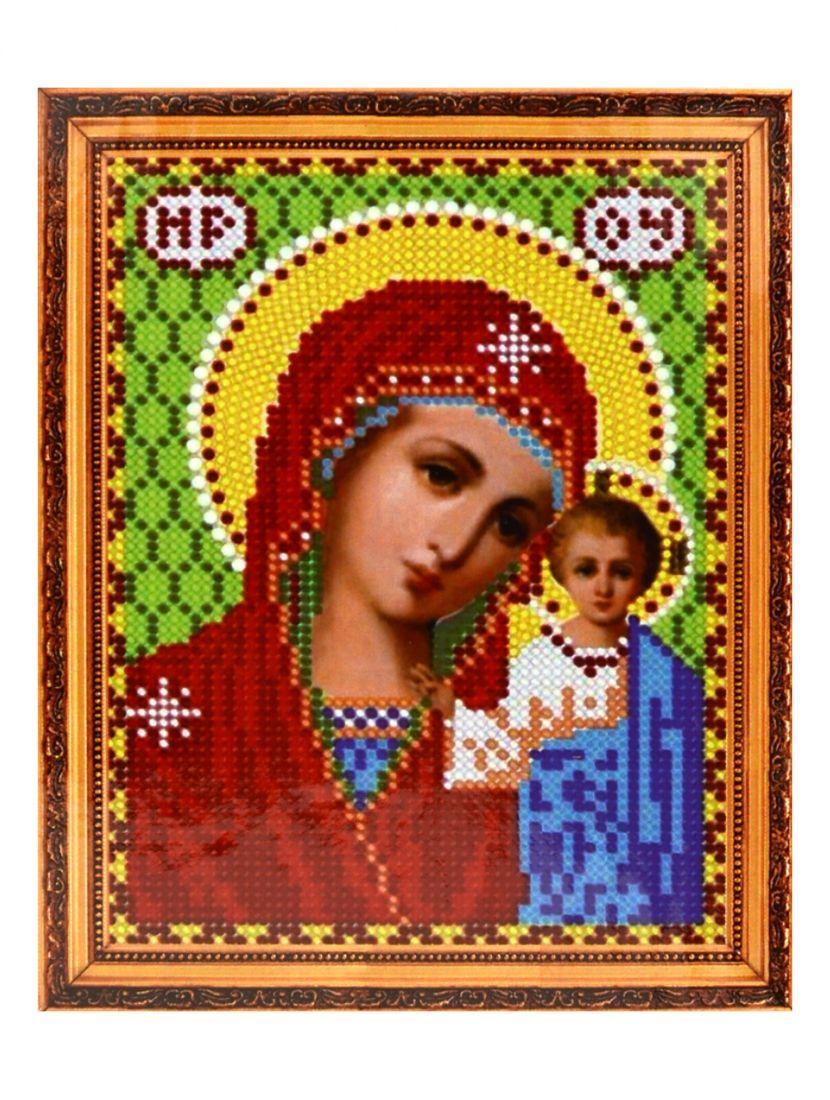 Алмазная мозаика на подрамнике «Божией матери Казанская» икона