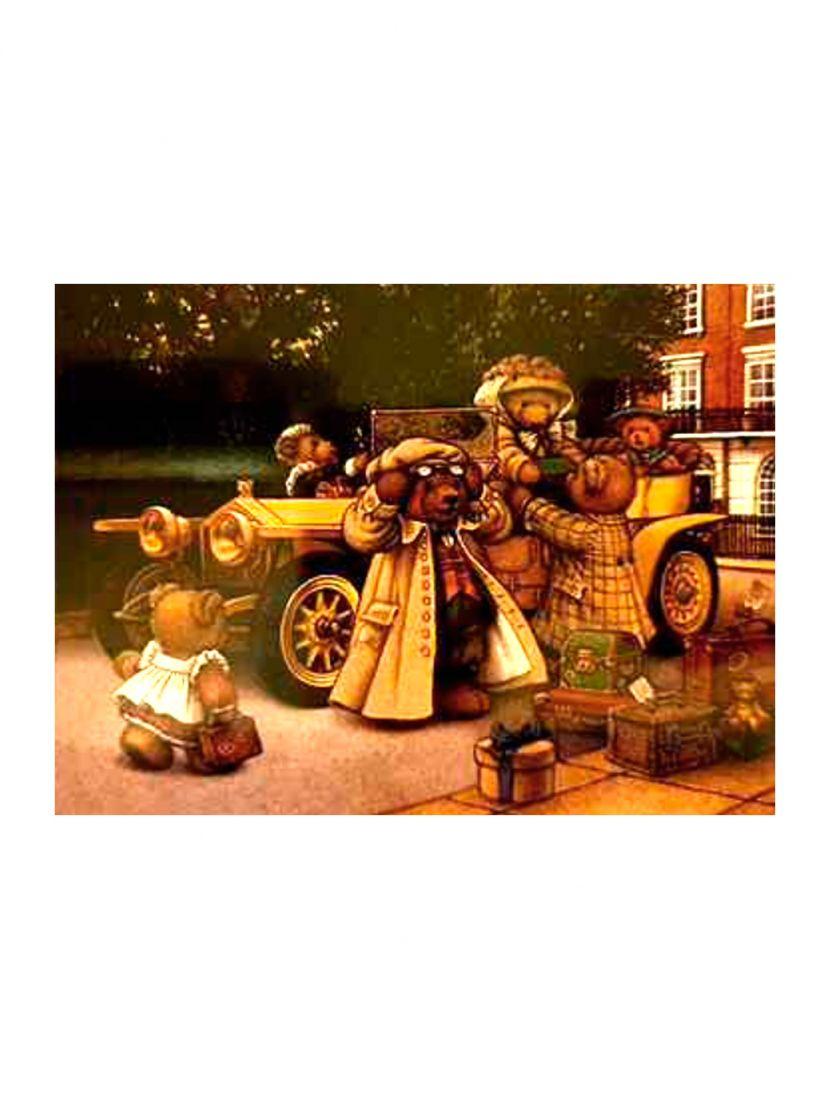 Алмазная мозаика на подрамнике «Плюшевая жизнь»