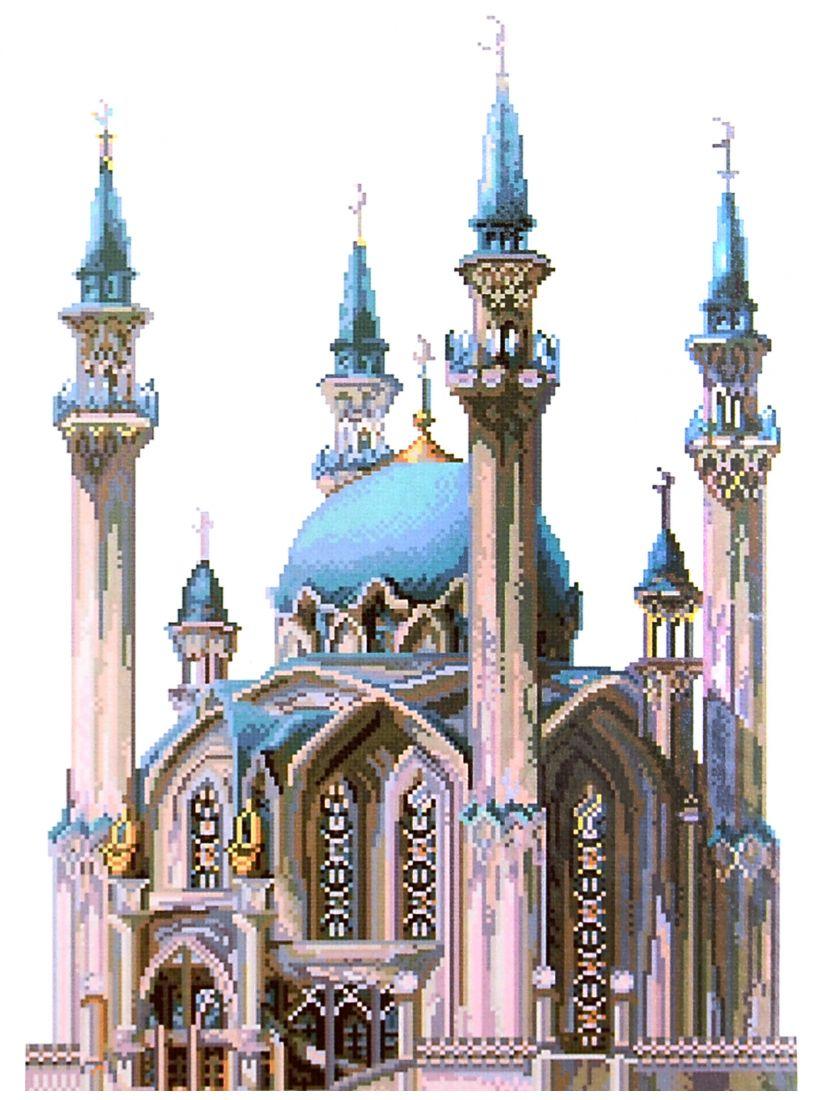 Набор для вышивания крестом «Мечеть»
