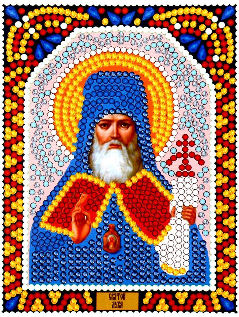 Алмазная мозаика «Святой Лука» икона