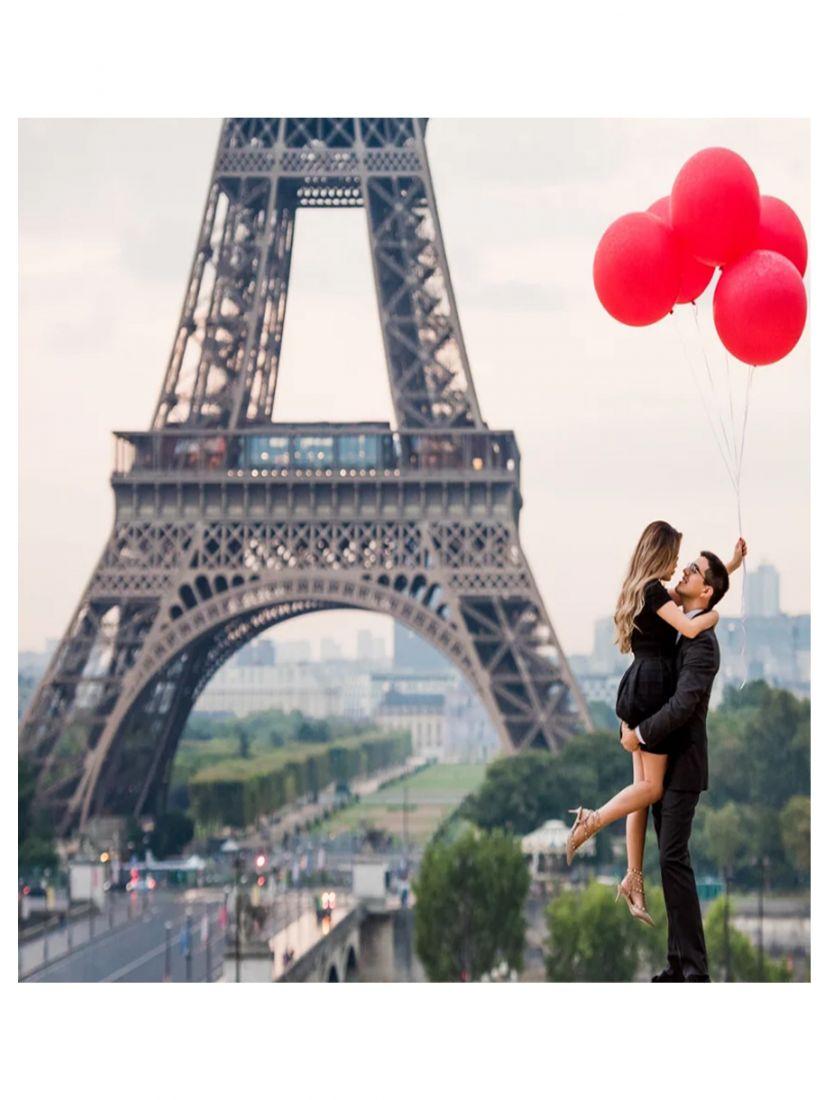 Картина по номерам «Встреча в Париже»