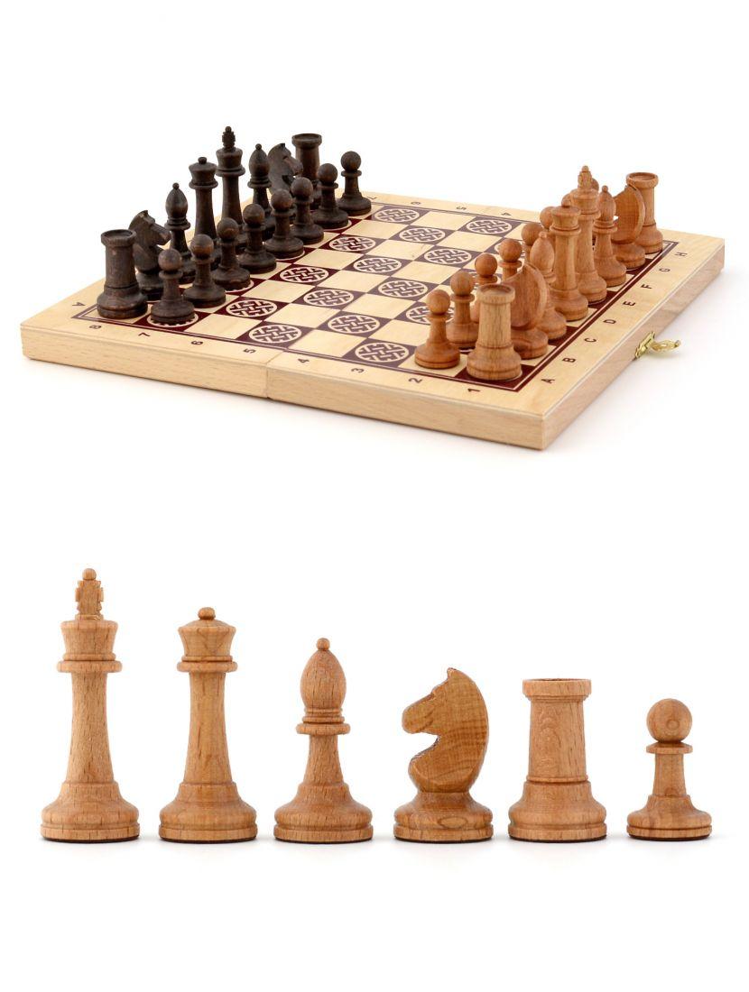 Шахматы из бука «Кировские» высокое качество, 24 x 24 см