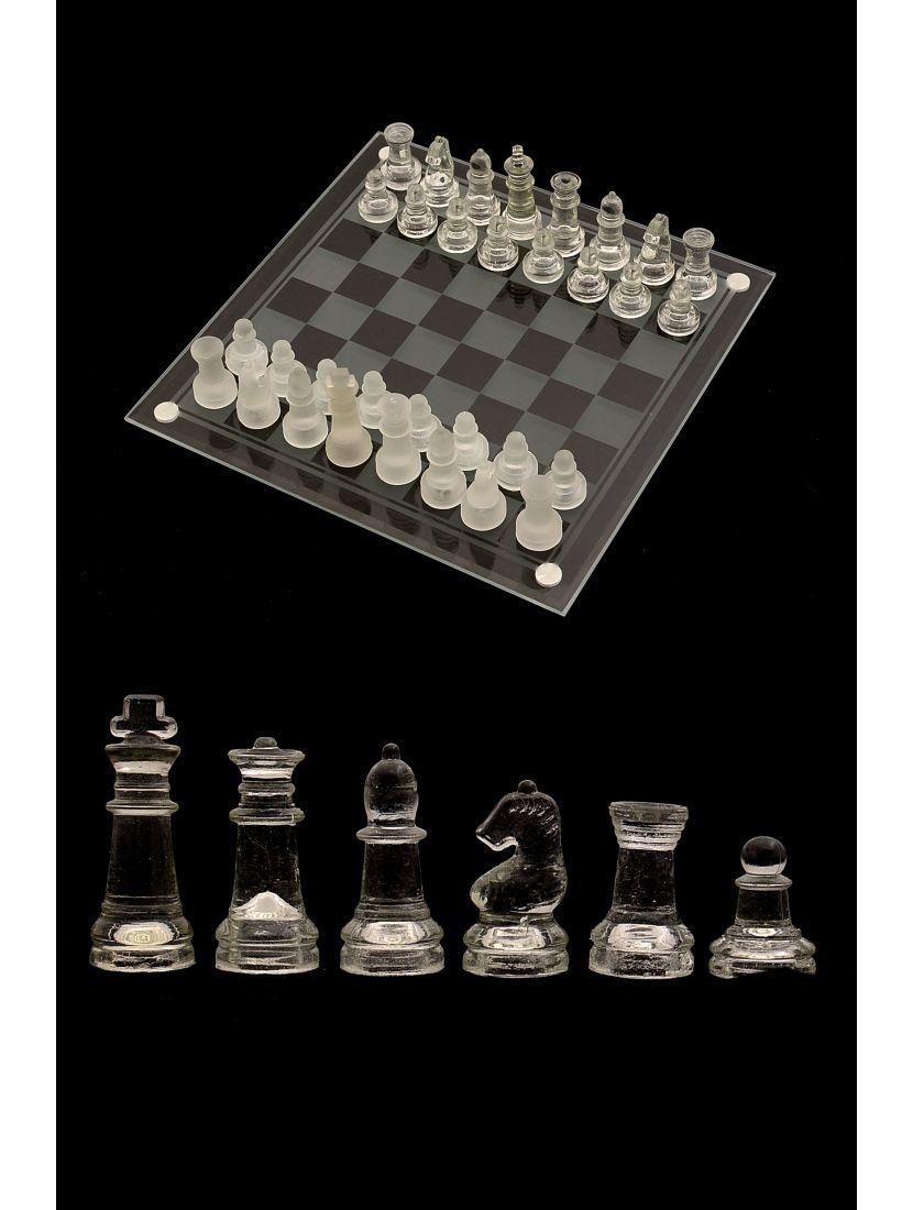 Шахматы стеклянные «Гласис»