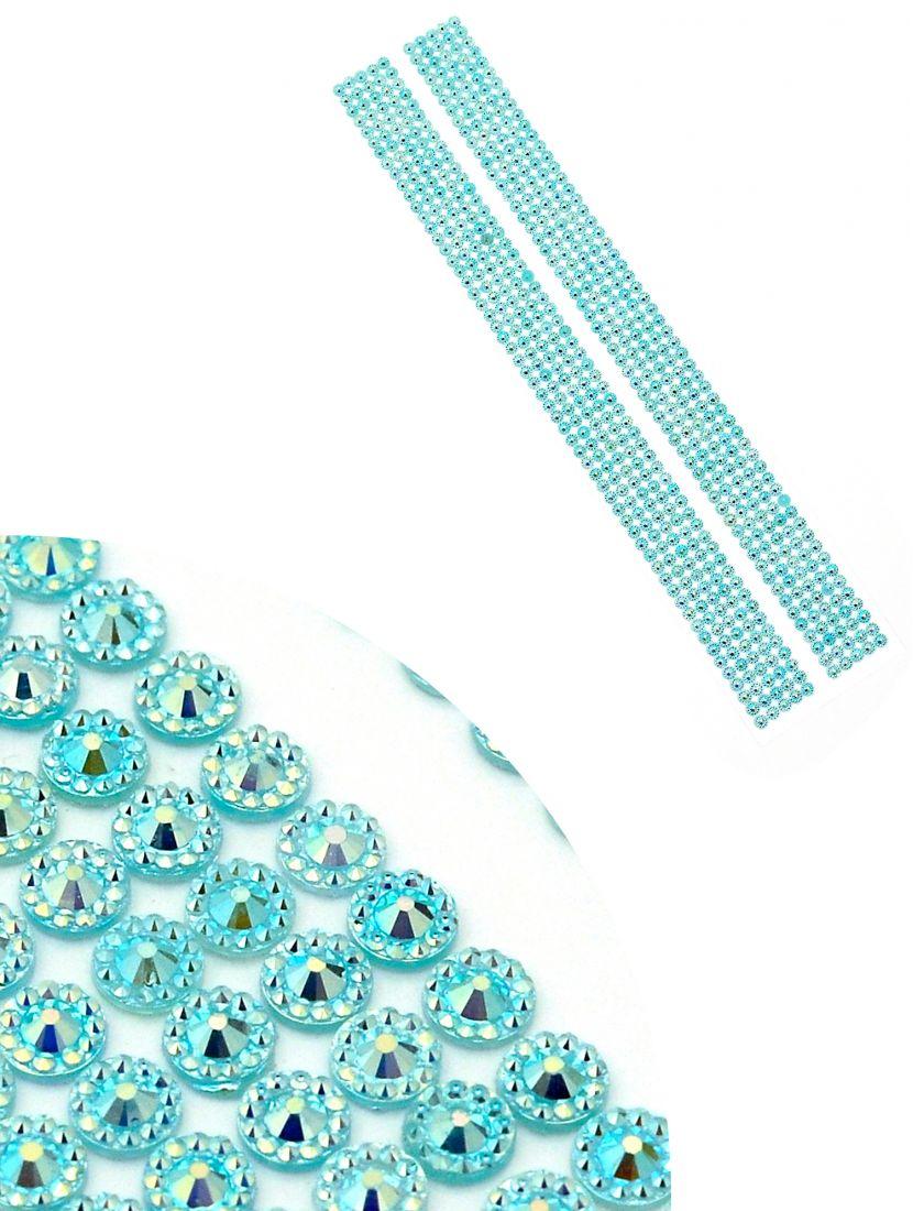 Стразы для рукоделия «Алмазная лента гулобая» самоклеющиеся