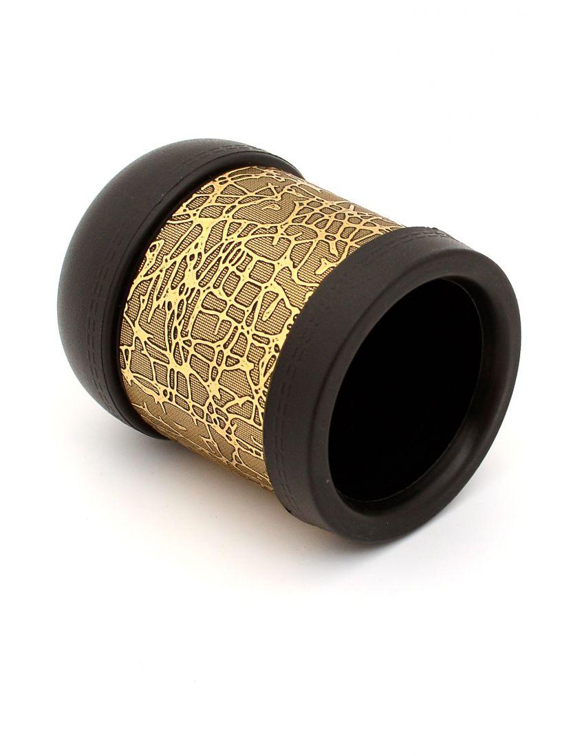 Пластиковый стаканчик для костей «Золотая кожа»