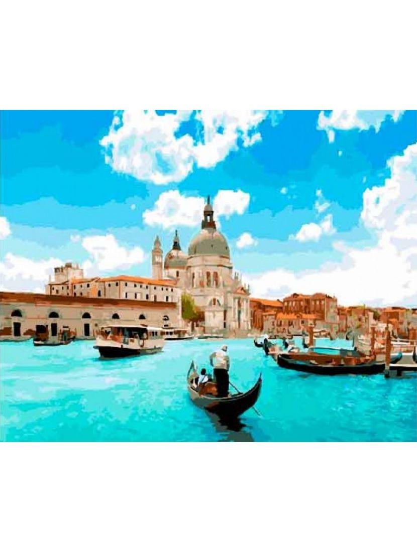 Алмазная мозаика на подрамнике «Венеция»