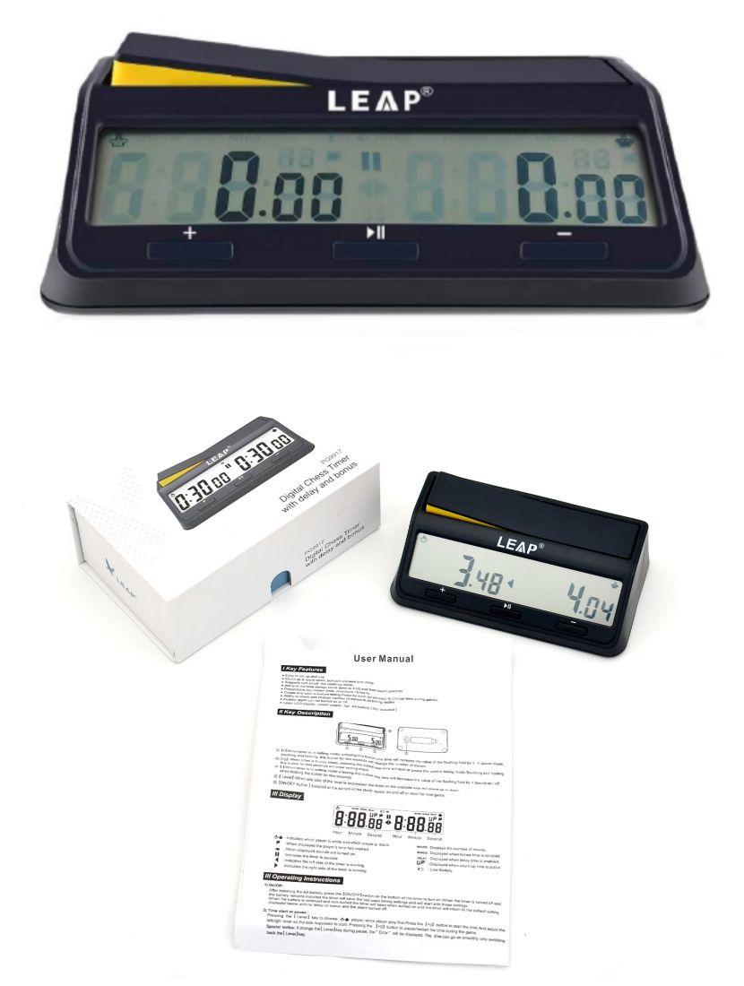 Шахматные часы электронные, модель - PQ9917