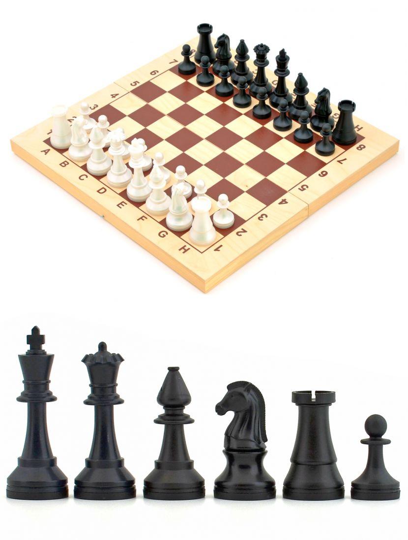 Шахматы «Владимирские» пластиковые фигуры