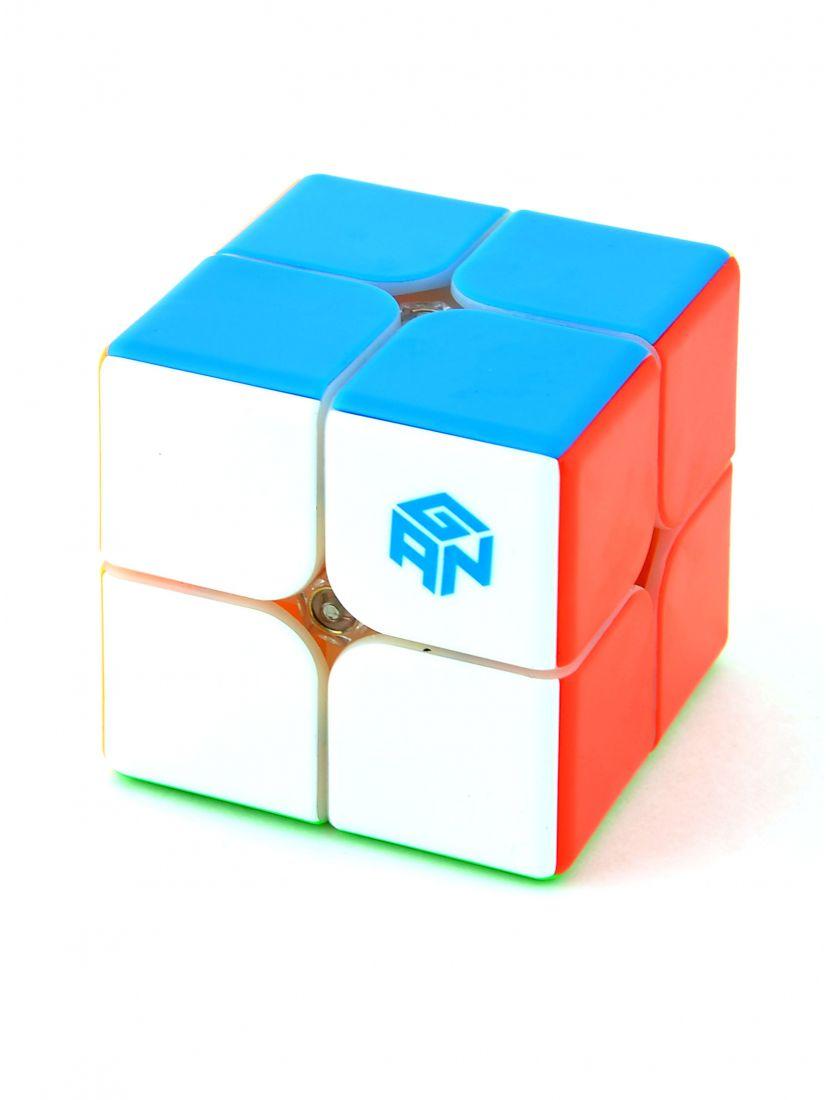 Кубик «Gan249 V2M» 2x2x2 цветной на магнитах