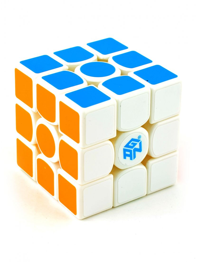 Кубик «Gan 356 Master S» 3x3x3 белый