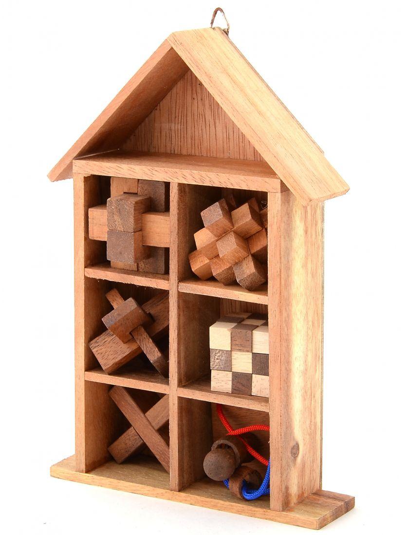 Подарочный набор головоломок - 6 в 1