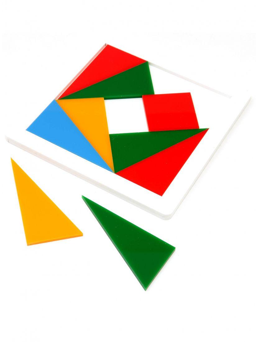 Головоломка «Четыре цвета» пластик