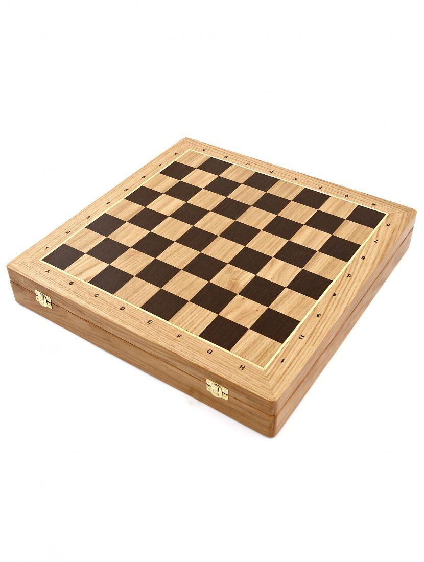 Шахматный ларец «Классический дуб» 50