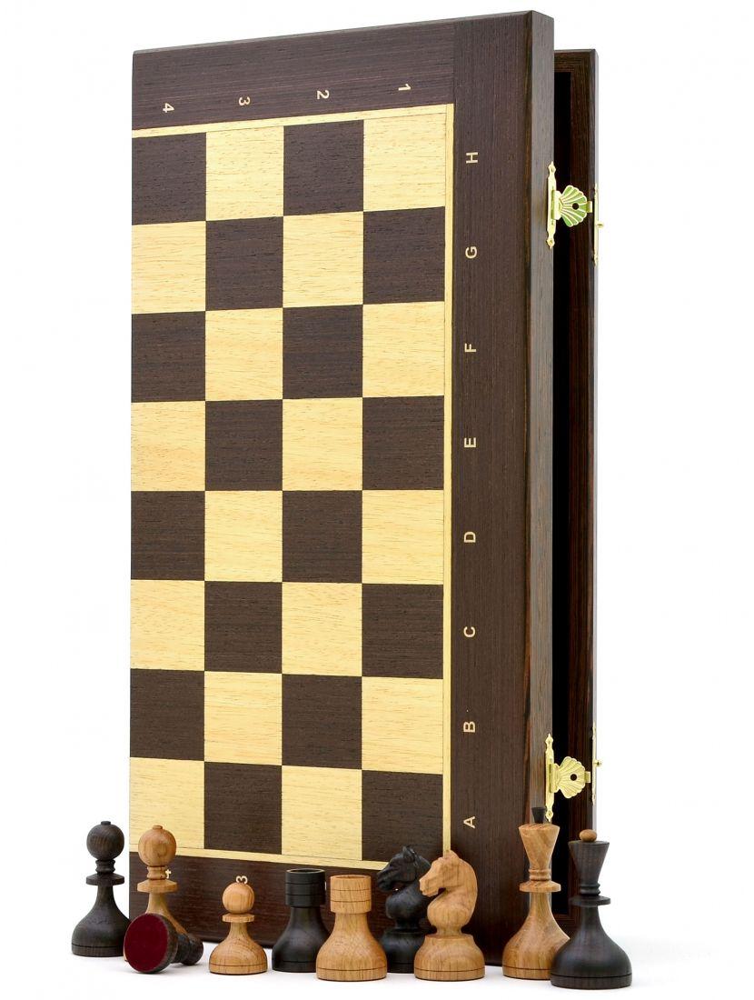 Шахматы «Дворянские венге» доска панская