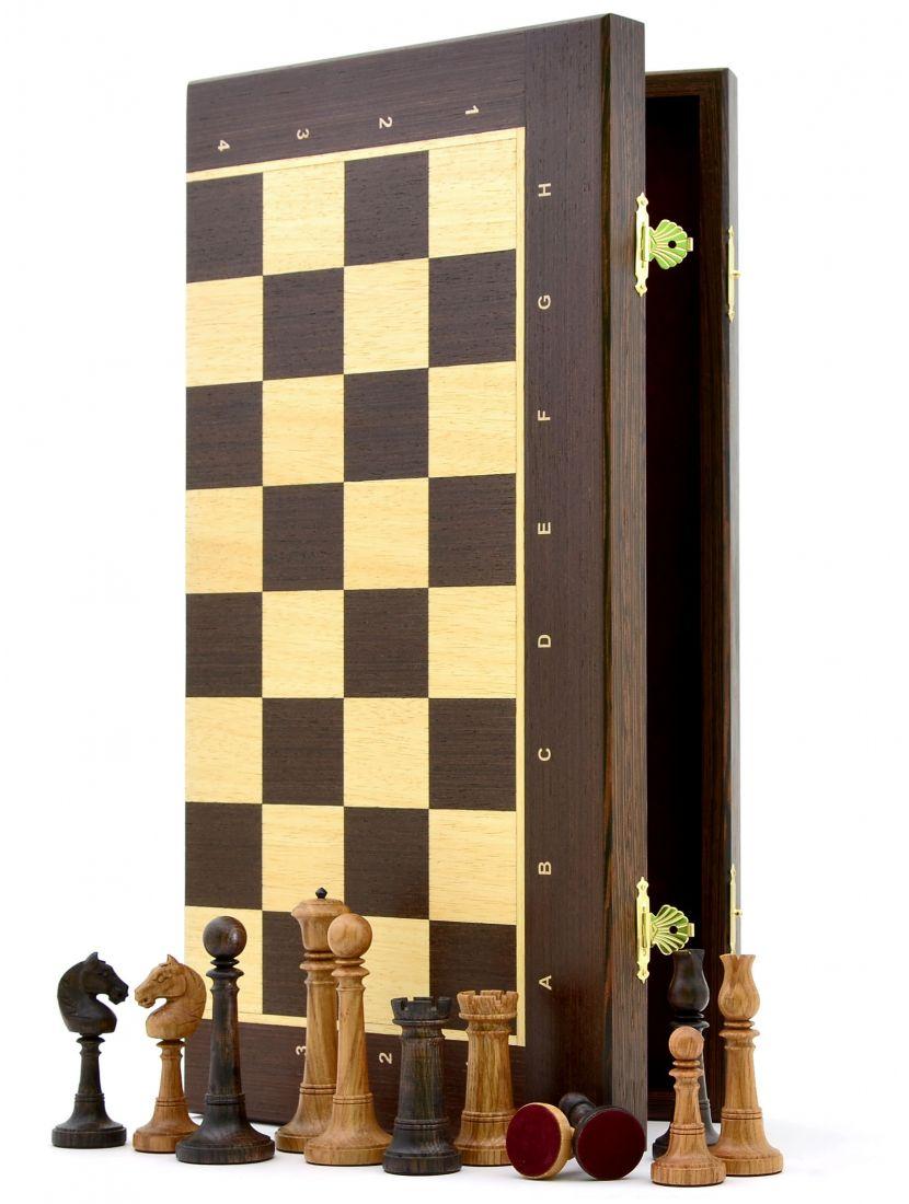 Шахматы складные «Элеганс» из венге