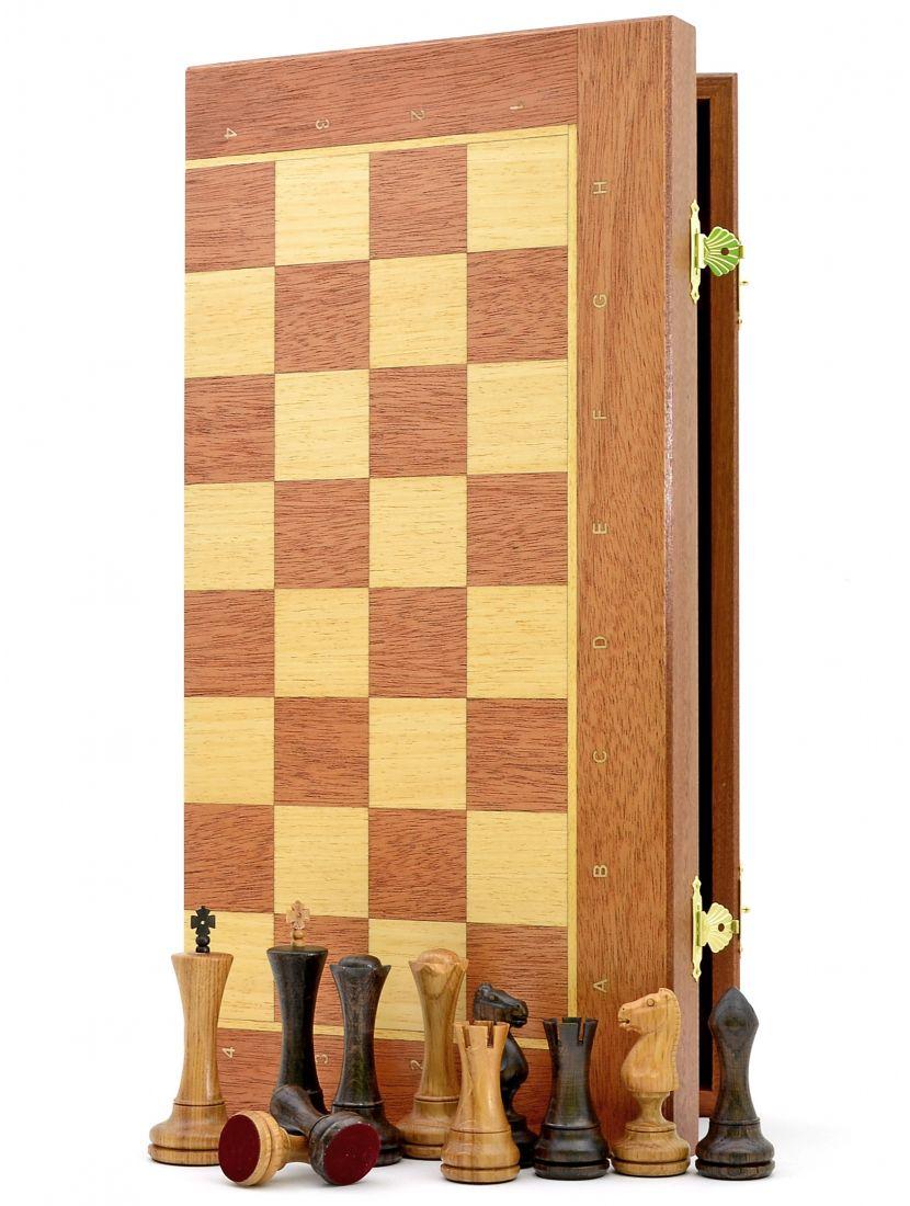 Шахматы «Феррум махагон» доска панская