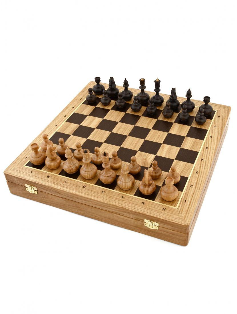 Шахматы «Бочата» ларец классический дуб