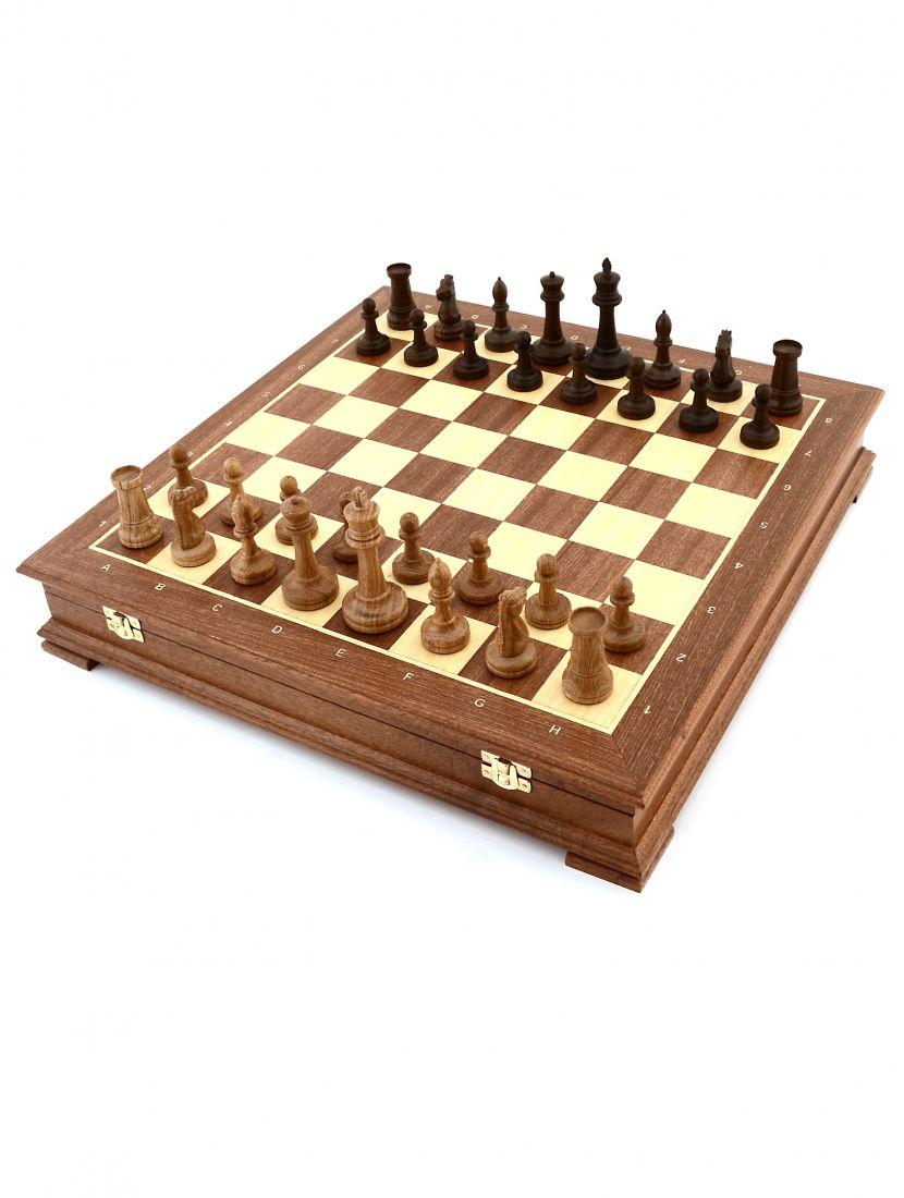 Шахматы «Стаунтон махагон»