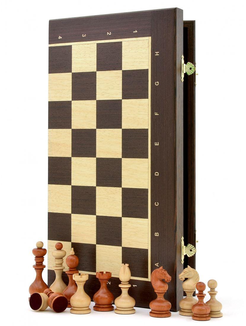 Шахматы «Суздальские венге» доска панская