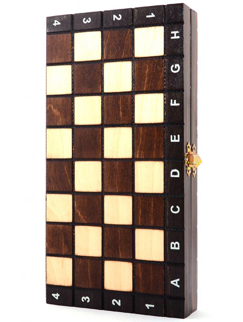Нарды+ шахматы + шашки «Туристические-3» 3 в 1