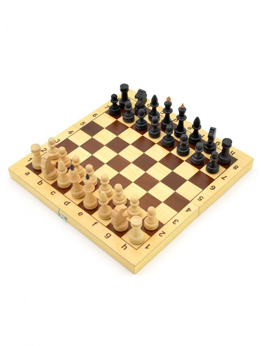 Шахматы малые «Славянские» фигуры из бука