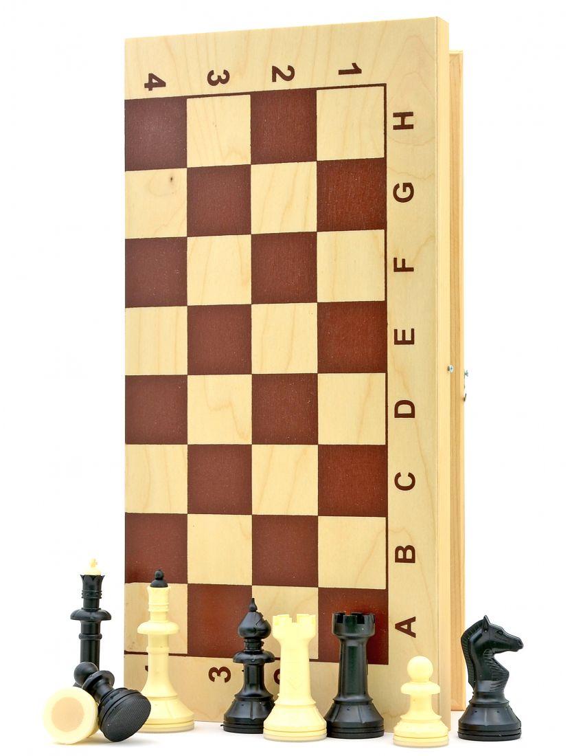 Шахматы «Владимирские» фигуры средневековье пластиковые