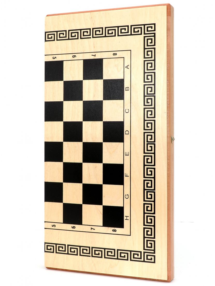 Шахматы + нарды + шашки «Тульские» светлые 3 в 1