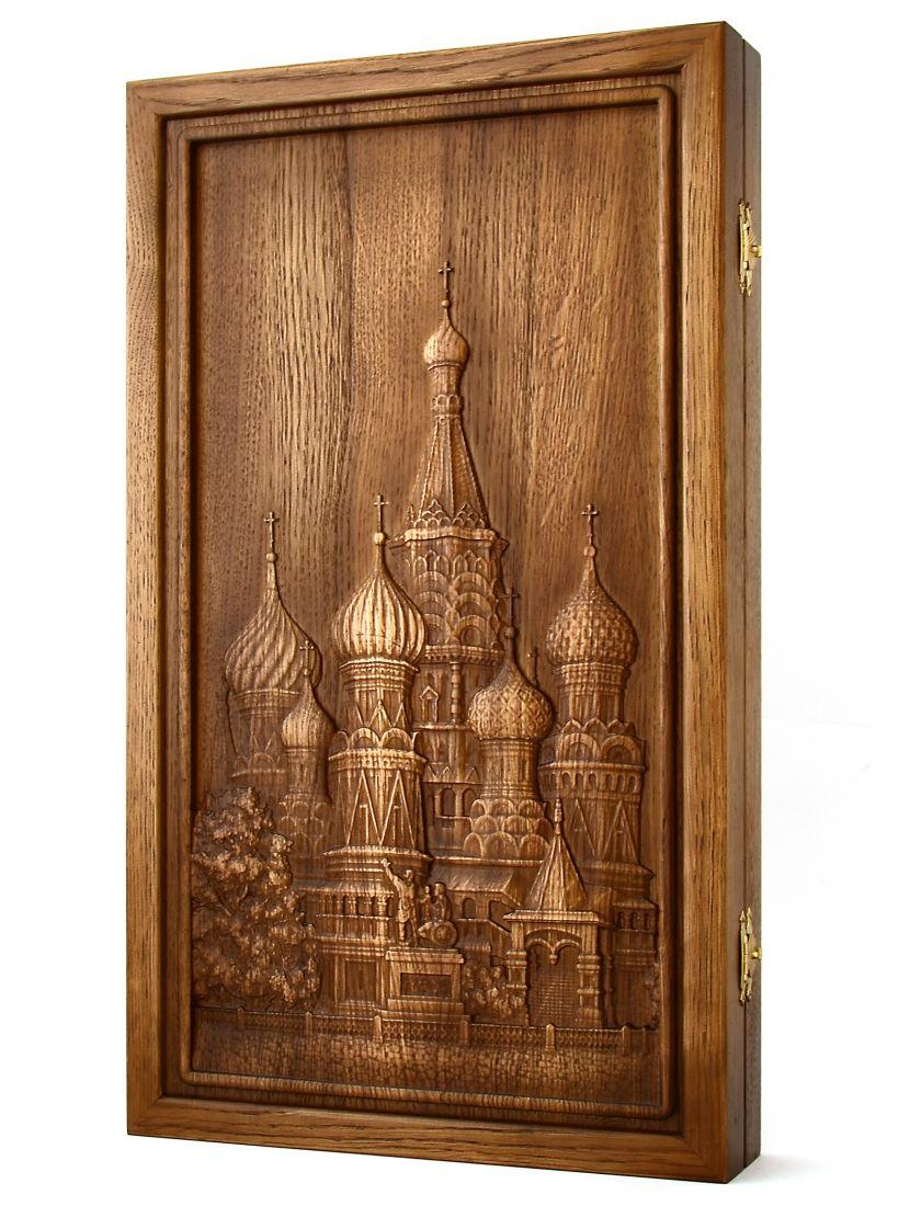 Нарды «Покровский собор» (патина)