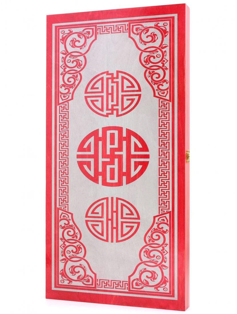 Нарды «Китайский орнамент» тонированные