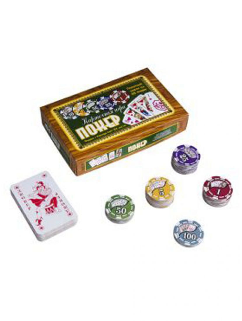 Покер «Походный» 100 фишек
