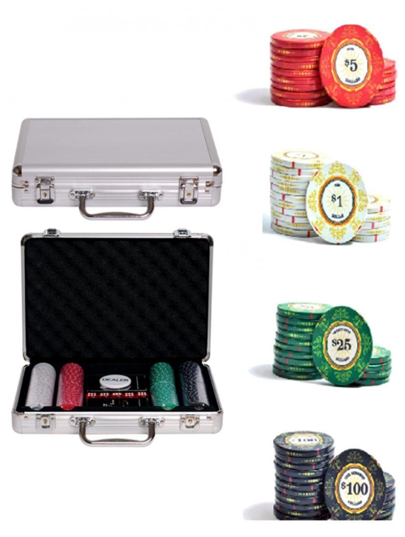 Покер «Luxury Ceramic» 200 фишек