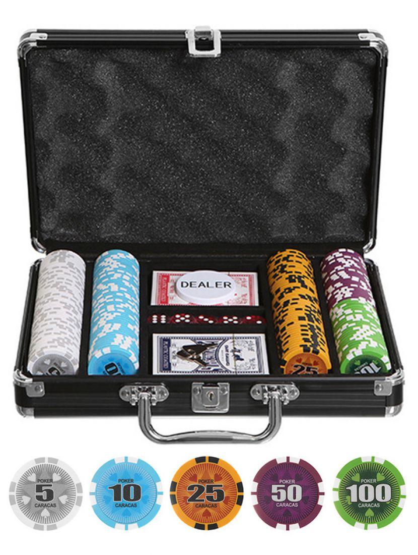 Покер «Caracas» 200 фишек