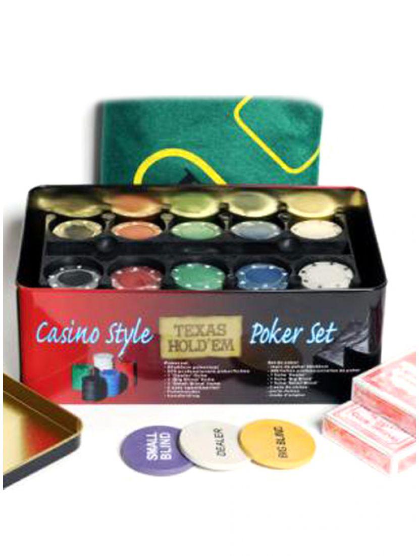 Покер «Holdem Light» 200 фишек без номинала